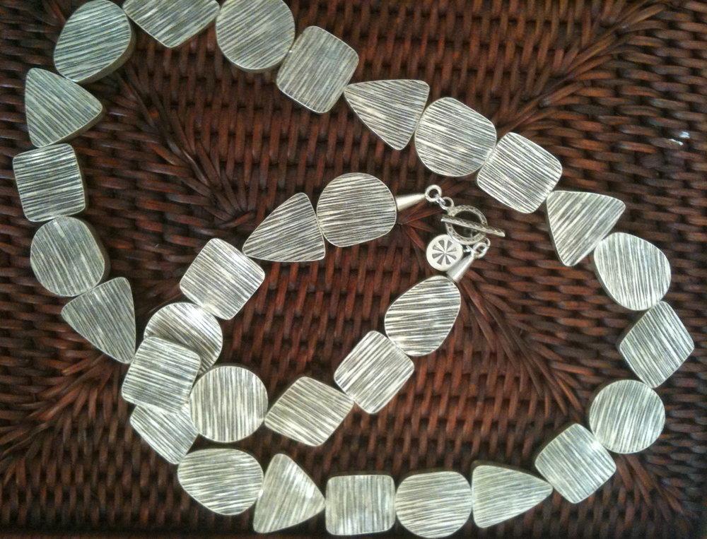 #   Striated Silver