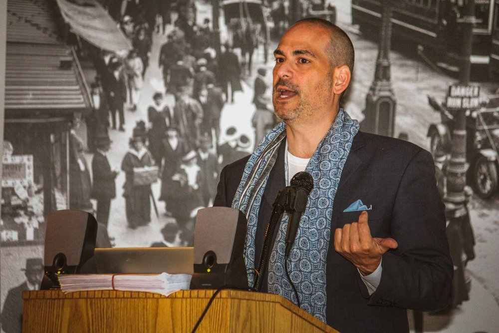 Frank Vagnone, President & CEO of Old Salem Museums & Gardens, and author of The Anarchist's Guide to Historic House Museums speaks at the Council's 2015 Annual Meeting.