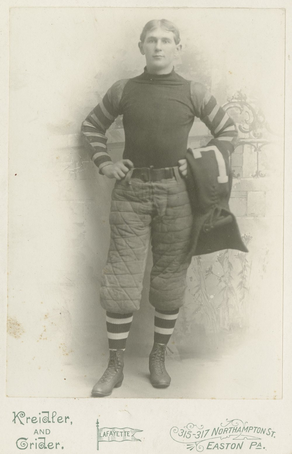 George Barclay - Inventor of football helmet