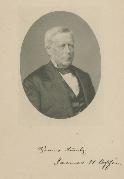 James Henry Coffin - Lafayette professor who developed the field of meteorology