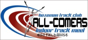 BTC Indoor All-comers track & field meet - Coming in February 2019, the BTC Indoor meet is hosted at the Montana State University indoor track.