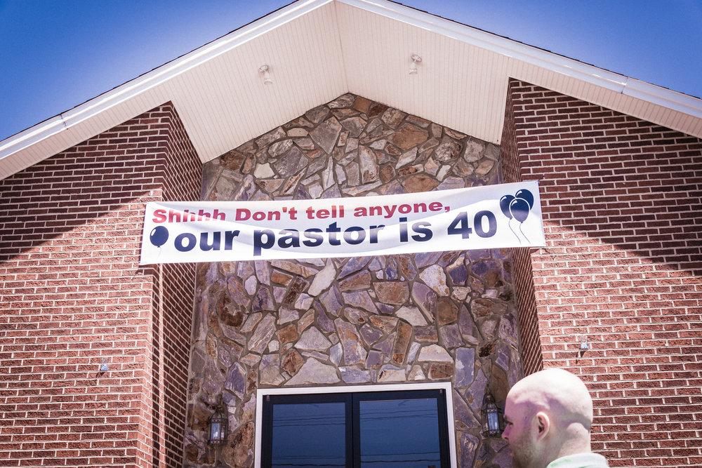 Pastor's 40th Birthday -