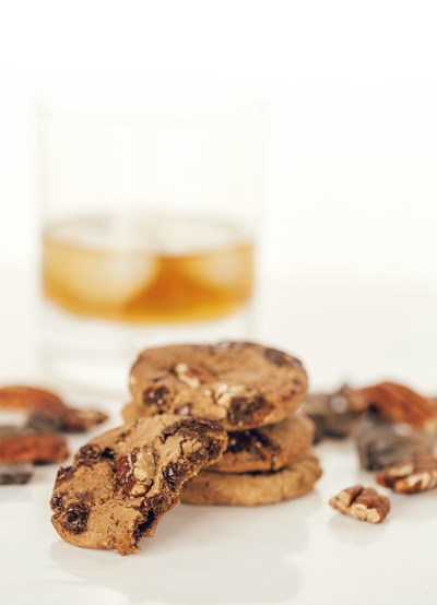 Dark Chocolate Chunk Smoked Pecans