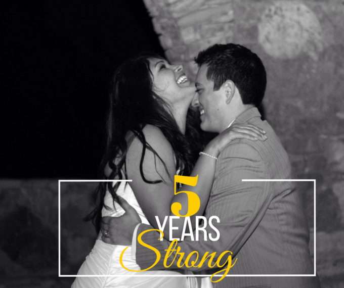 5 Years Strong (philip and erica)