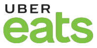 UberEats logo and link