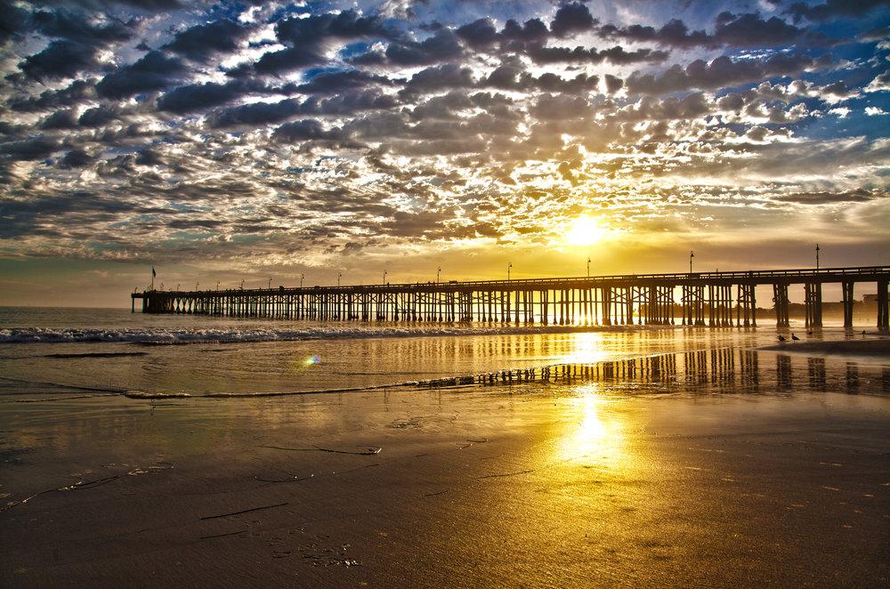 Ventura_pier_sunset