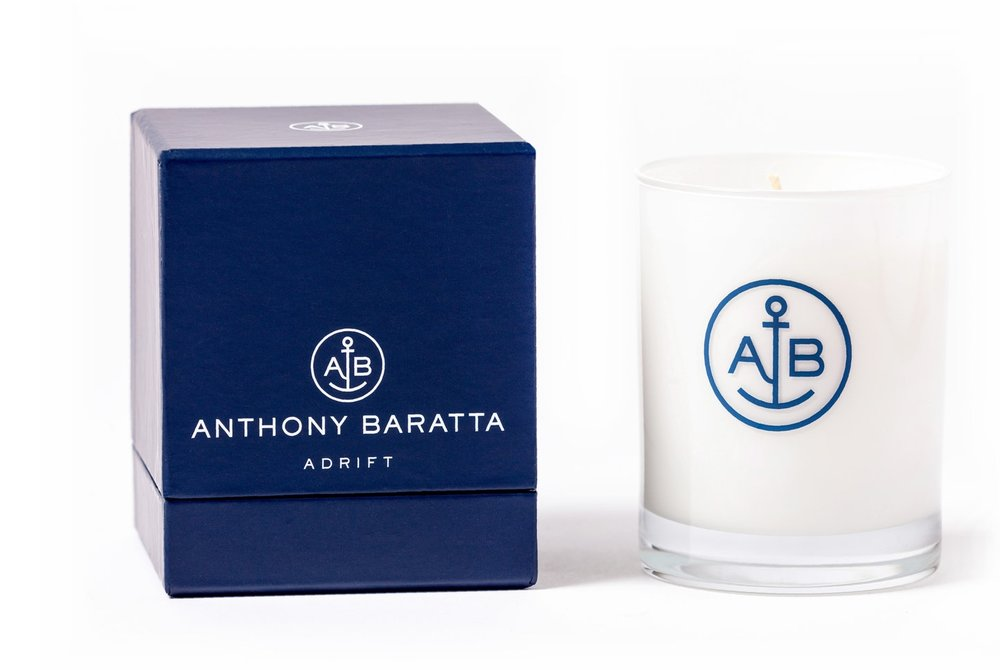 Signature Anthony Baratta Candles | ADRIFT - Limited Availability!