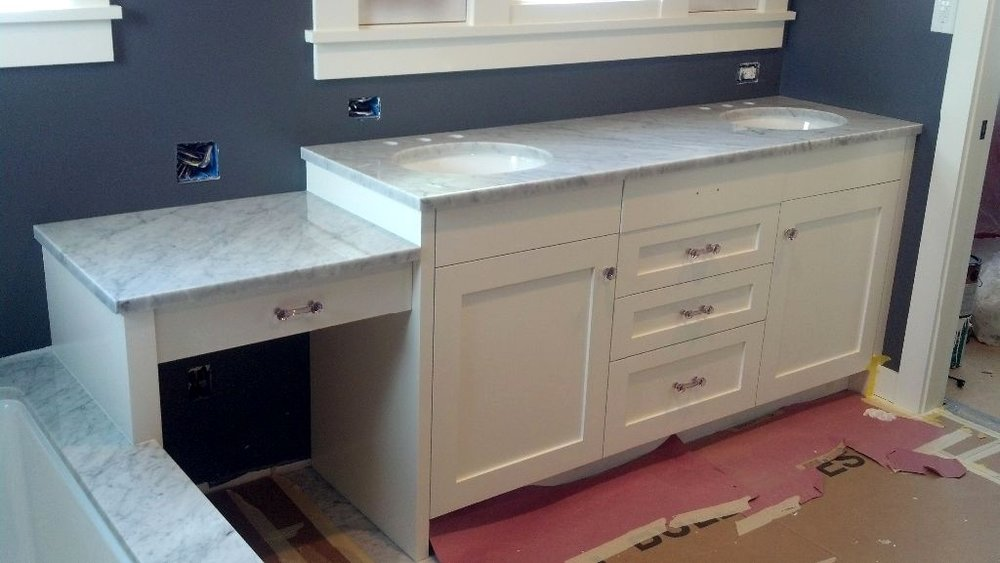 Polished Carrara Marble