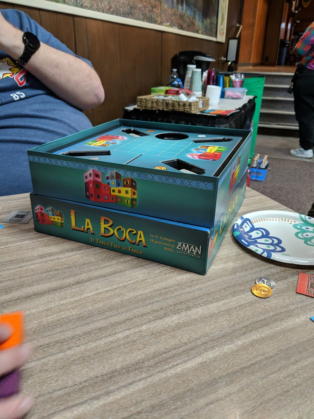Setting up one of my favorites — La Boca.