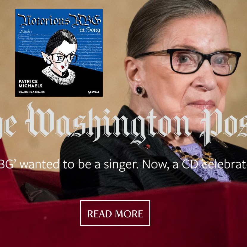 'Notorious RBG' wanted to be a singer. Now, a CD celebrates her · '