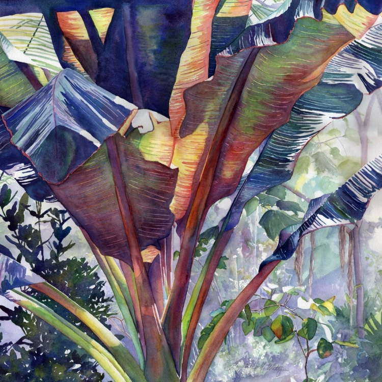 """Jungle Fever"" Watercolor by Lorraine Watry"