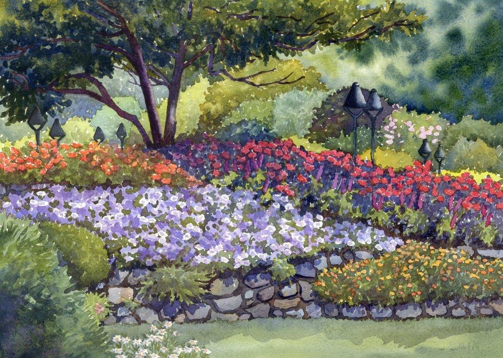 Butchart Garden Colors © Lorraine Watry