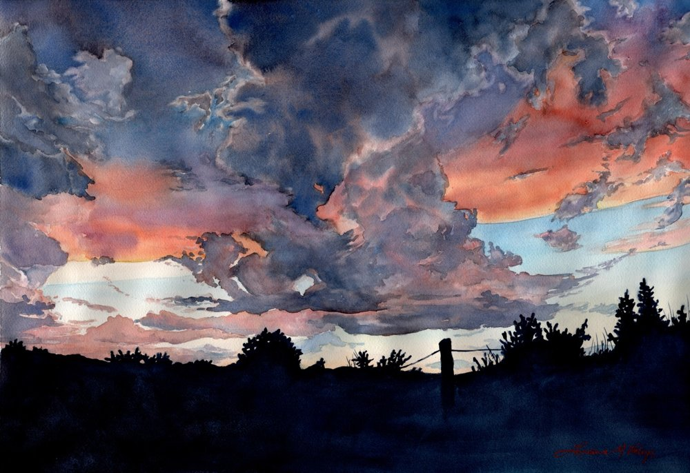Colorado Sunset © Lorraine Watry