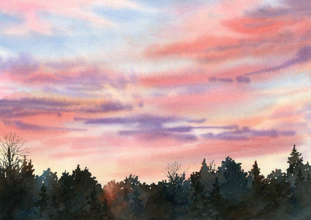 Evening Glow © Lorraine Watry