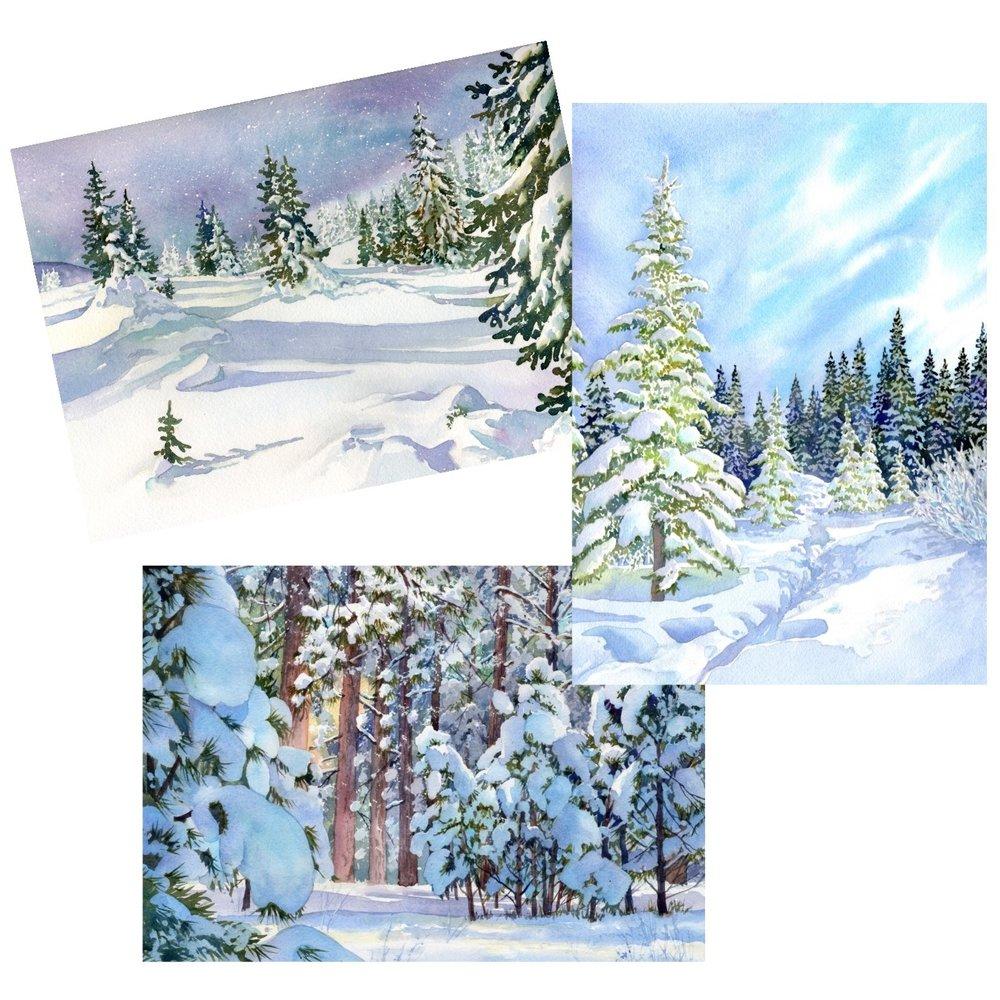 blank-note-cards-snow-scene-prints-lorraine-watry