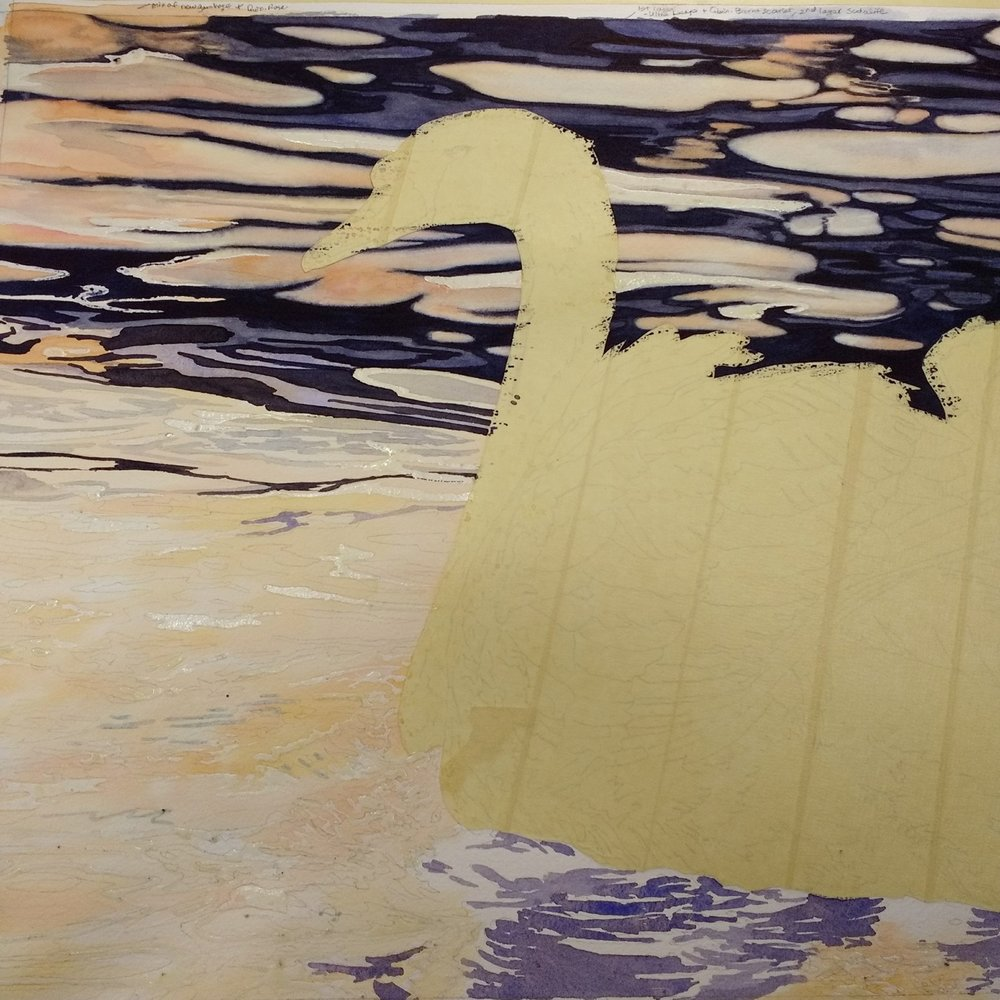 Masking-tape-to-mask-watercolors-swan-painting-Lorraine-Watry.jpg