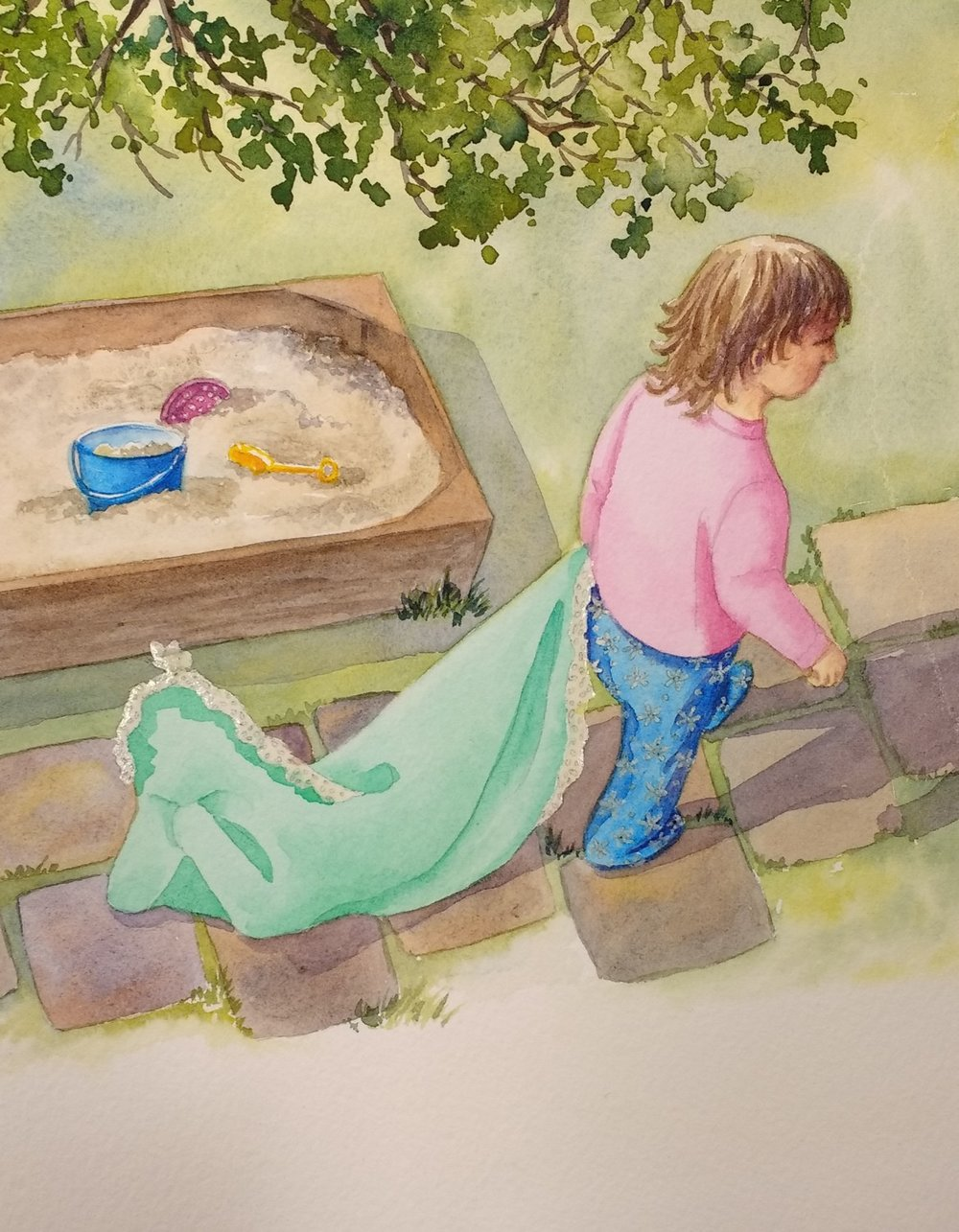 childrens-book-illustration-blankie-outside-step-2-by-Lorraine-Watry.jpg