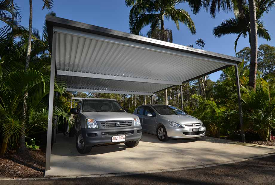 Carports - Protect your car, boat and trailer from the damaging effects of the weather with a fully engineered carport by Port Patios.