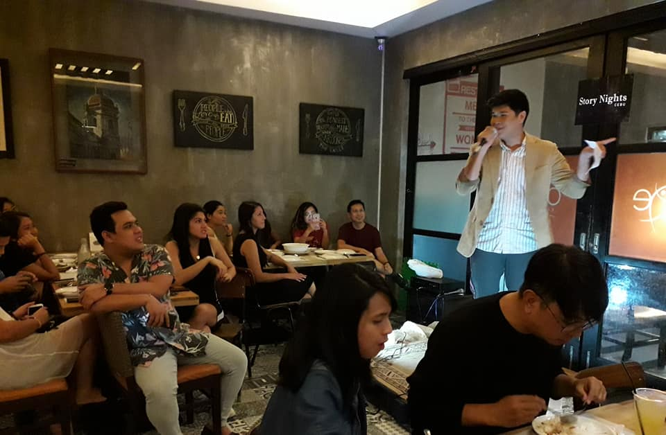 Christian Earl Layese shares his story at Hostel 7 Cebu
