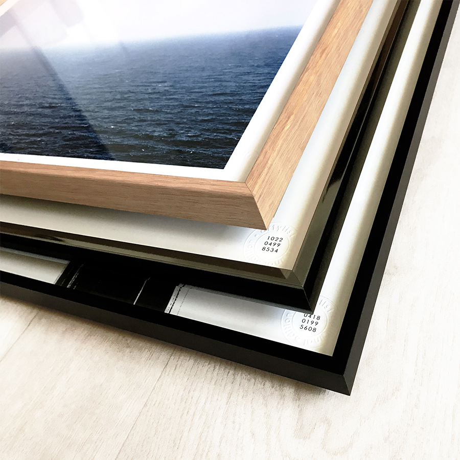 PRINTED AND FRAMED BY US - We print everything in-house using the latest environmentally-friendly technologies. This means we can guarantee you the best quality. We will frame the work you've selected in a designer frame so that it is nothing short of perfect.