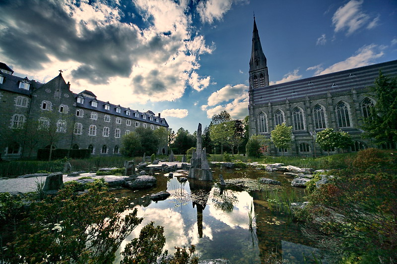 Peace and calm in Maynooth