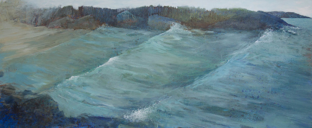 Coming in to Cow Strand 134x64cm.jpg