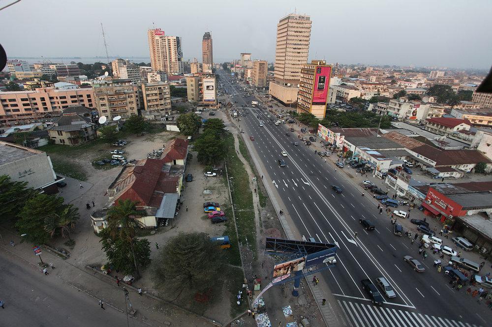 Région Ouest - Kinshasa, Kongo Central, Kwilu, Kwango