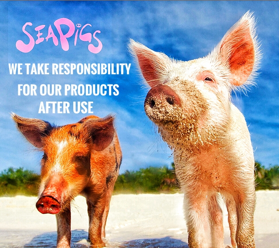 SeaPigs-products-after-use