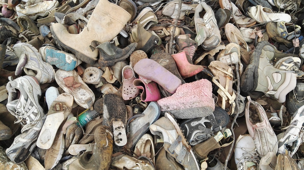 """MILLIONS OF FLIP FLOPS ARE DISCARDED EVERY DAY"" - BLUE OCEAN 2018"