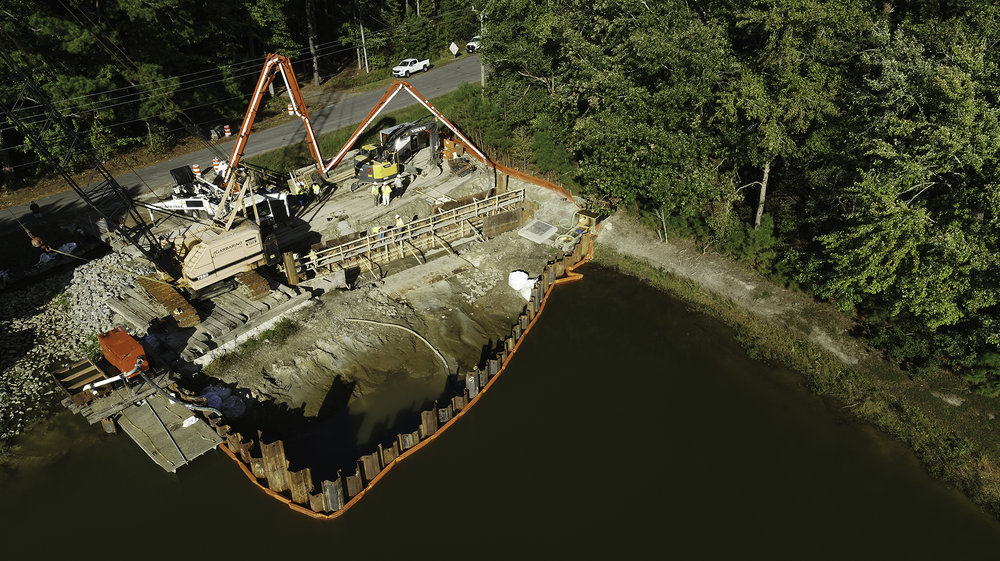 PUMP STATION CONSTRUCTION, ASHVILLE PARK IN VIRGINIA BEACH