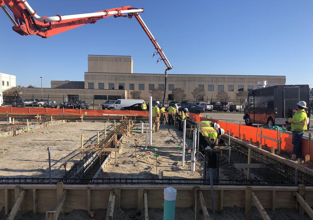 UUV facility construction