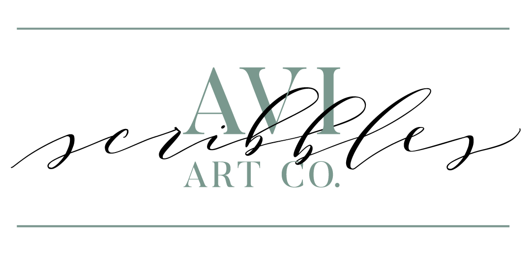 Avi Scribbles Art Co. - Freehand Calligraphy + Murals