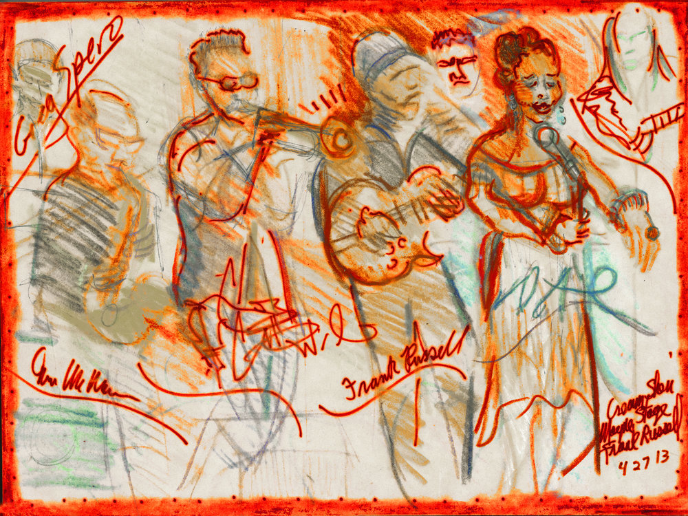 SOLO EXHIBITIONS - 2018 Jazz Portraits, A Chicago Artist Captures their Culture, A fifteen-year retrospective of Jazz performers ages 50 to 90, Giclee Print and Original Drawings, Chicago2013 Jazz Portraits in Different Mediums, The Tavern Club, Chicago2003 Woman the Creator, Rogers Park Public Library, Chicago