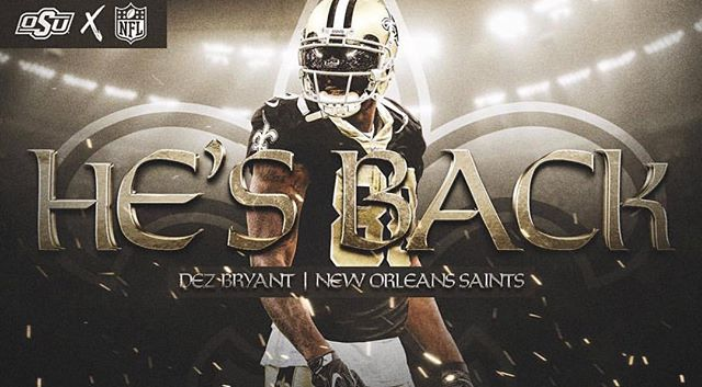 Can't wait to see him perform! OSU's very own @dezbryant ! Keep having faith and let your MVMNT always be going forward!