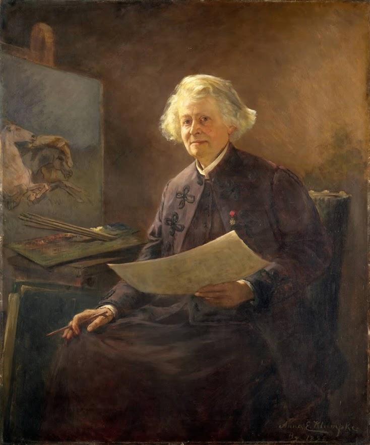 "Anna Klumpke, ""Portrait of Rosa Bonheur"" (1898)"