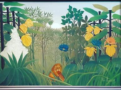 Henri Rousseau , The Repast of the Lion, 1907. Metropolitan Museum of Art