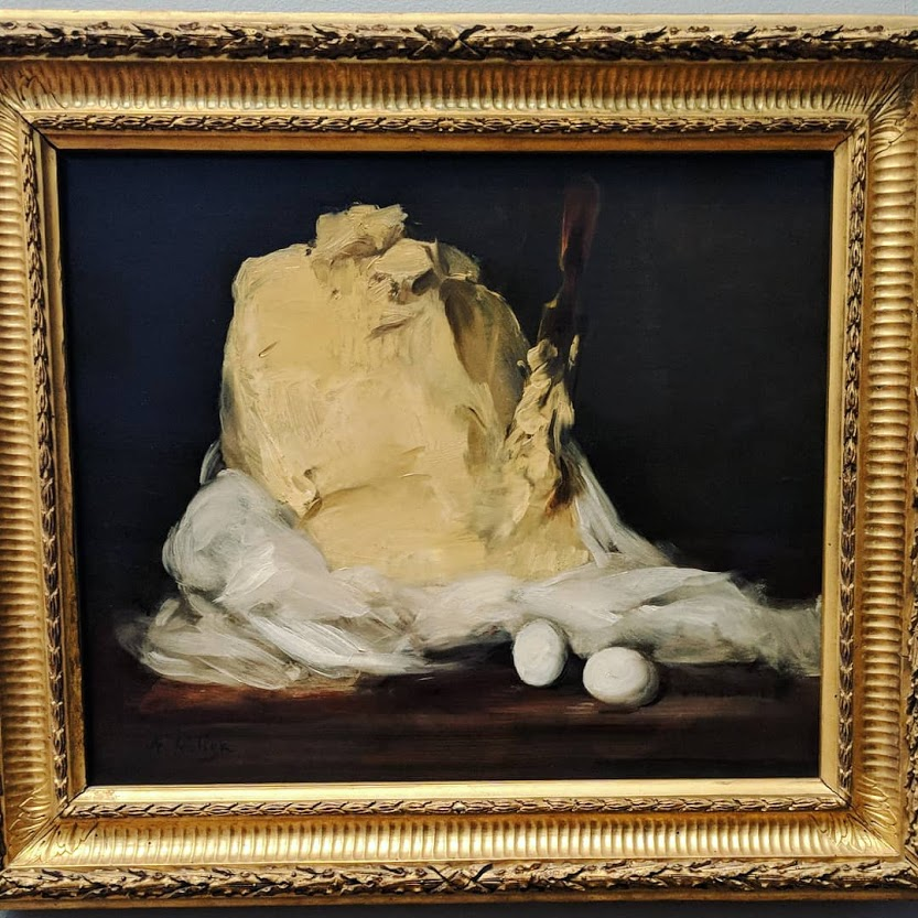 Antoine Vollon, Mound of Butter, 1875-1885. National Gallery of Art, Washington DC