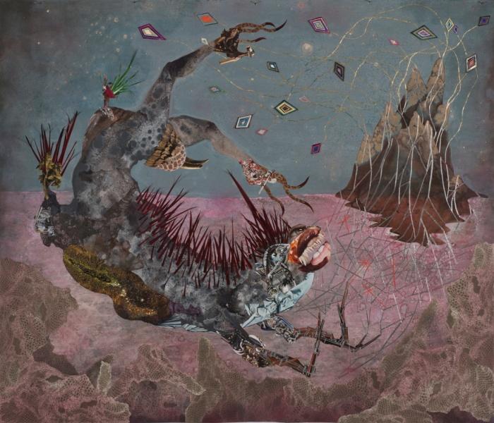 Wangechi Mutu, Wangechi Mutu. The screamer island dreamer,  2014