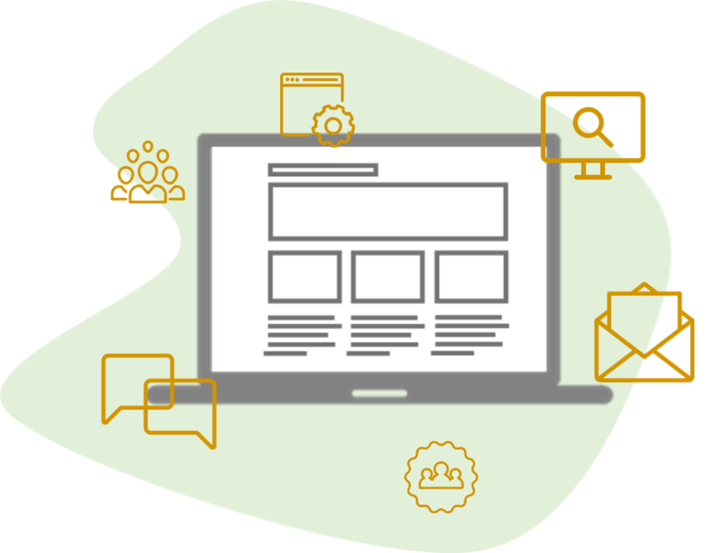 Your Website (Today) - Today, your firm invests significant resources in building awareness and driving consumers to your website; however, most engagement tends to start and end with a simple contact form. While this may be useful for some consumer, many consumers find this experience sub-optimal