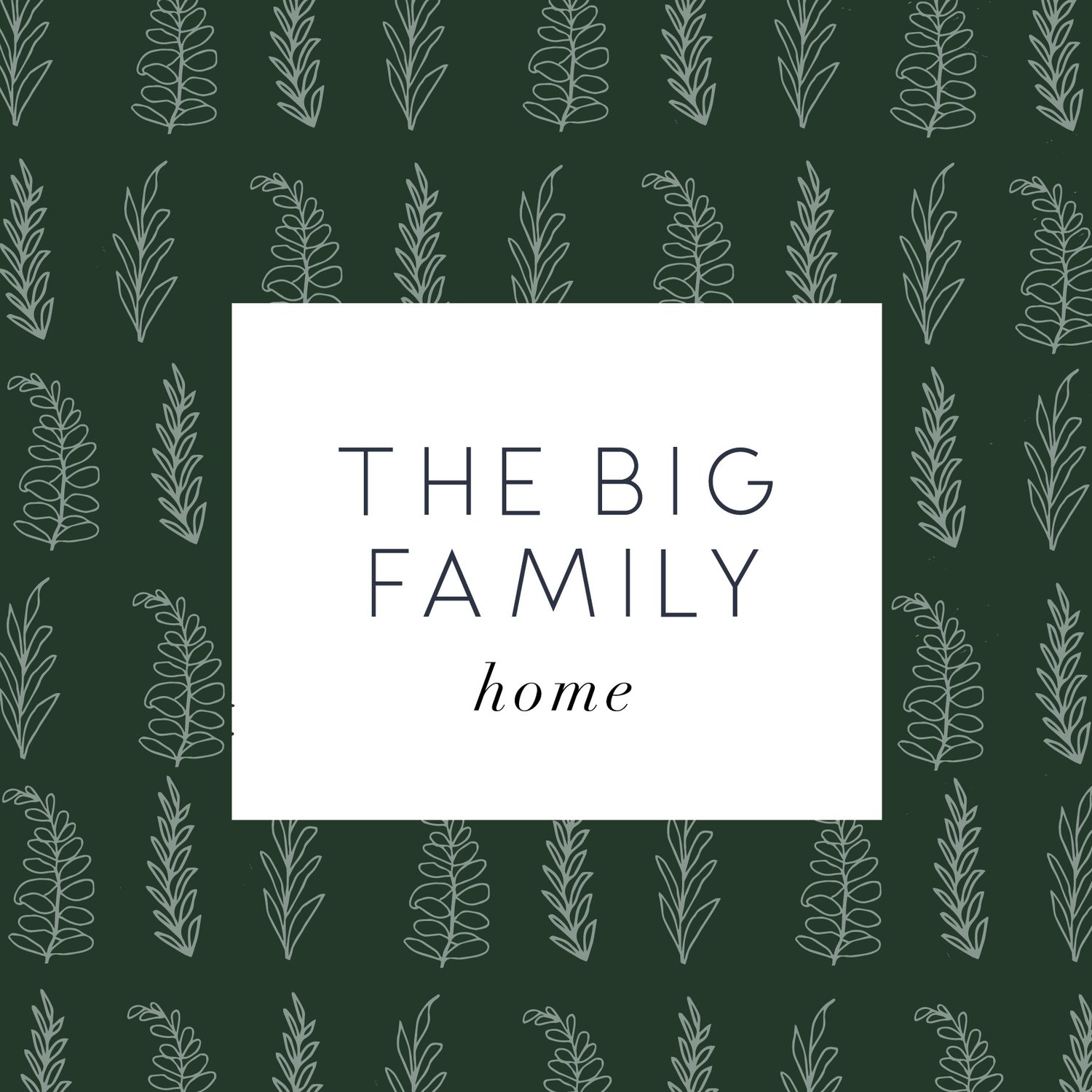 The Big Family Home