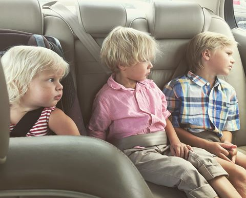3 brothers in the car.jpg