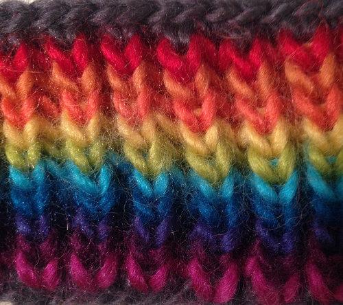 Knitting Brioche Weather Scarf Pattern Cara Jo Knapp