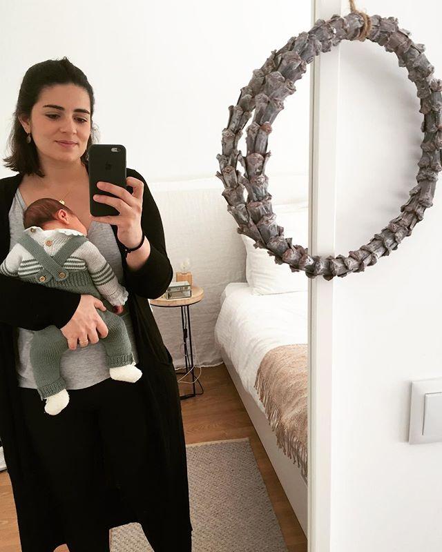 Há uma semana atrás nasceu o nosso bebé 🥰 #1weekold