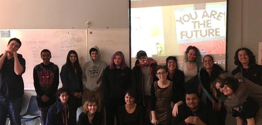Trillium Charter School Women's Studies Class, Portland, Oregon