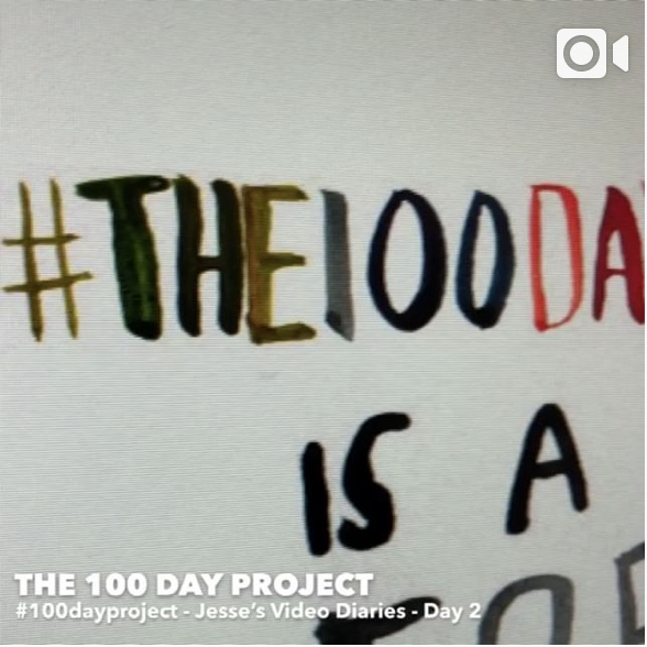 Day 2THE 100 DAY PROJECT -