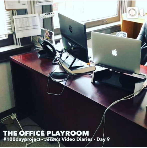 DAY 9THE OFFICE PLAYROOM -