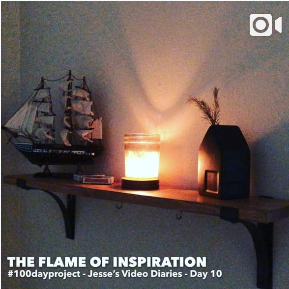 DAY 10THE FLAME OF INSPIRATION -