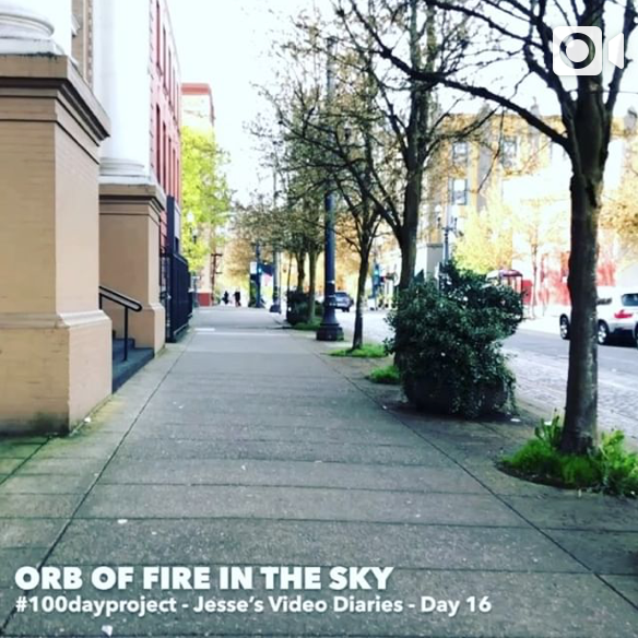 DAY 16ORB OF FIRE IN THE SKY -