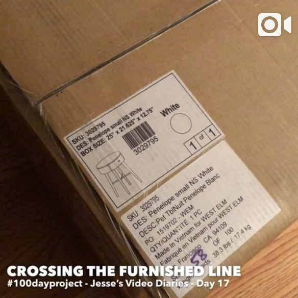 DAY 17CROSSING THE FURNISHED LINE -