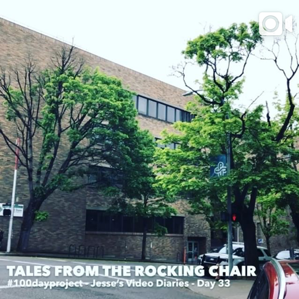 DAY 33 - TALES FROM THE ROCKING CHAIR -